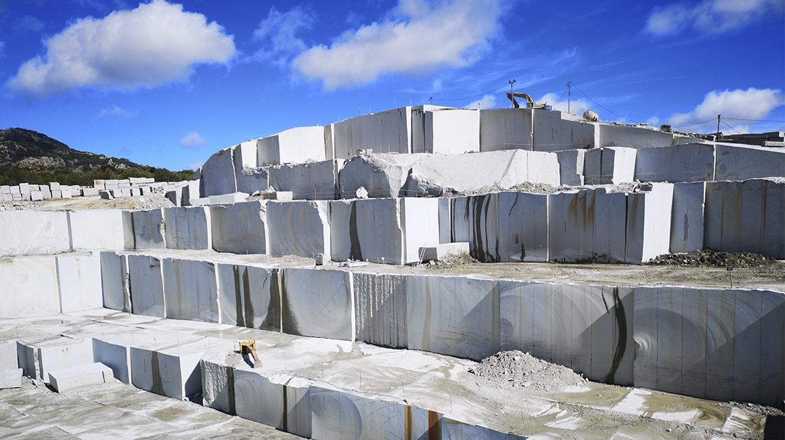 Extracción de granito en nuestras canteras